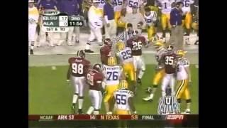 2003 #3 LSU vs. Alabama Highlights