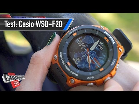 Casio WSD-F20 im Test: Dicker Brummer für Draußen