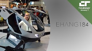 E-Hang's 184 Drone Can Fly a Human | Crunch Report