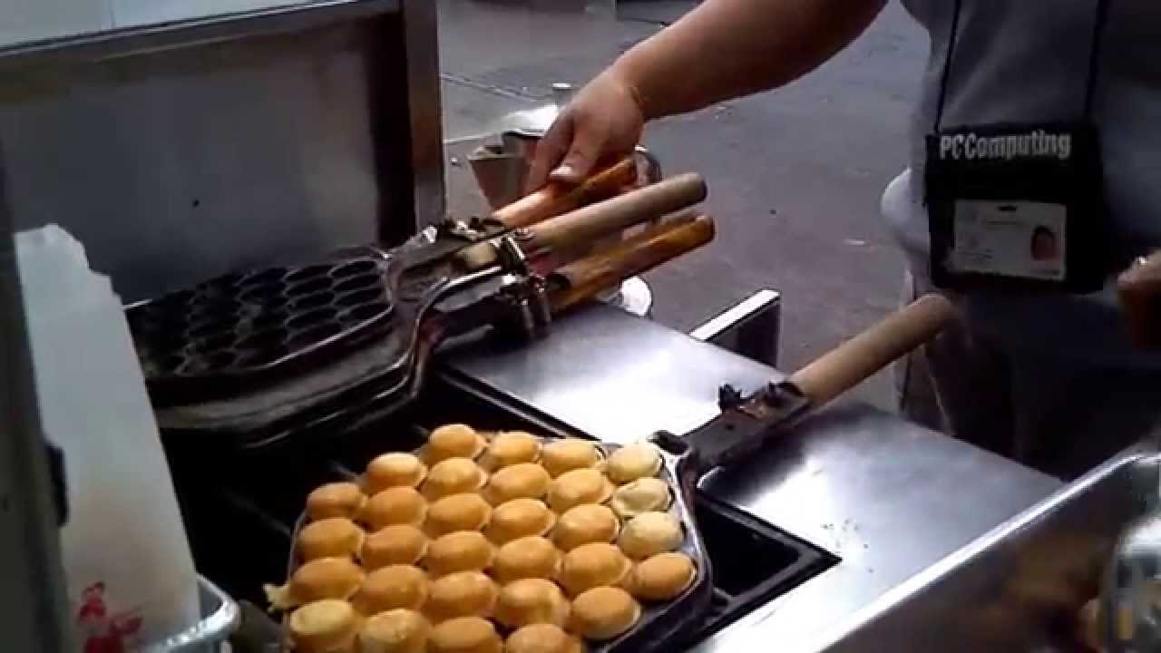 Nyc China Town Specials How To Make Mini Waffle Cakes