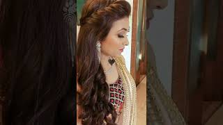 Hair Style For Beautiful Girls!!Hair style for wedding & Party!! #youtubeshorts #hairstyle #shorts