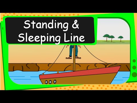 Maths Patterns Standing And Sleeping Lines English Youtube