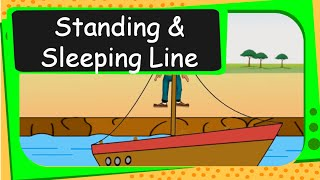 Maths - Patterns - Standing and Sleeping Lines - English