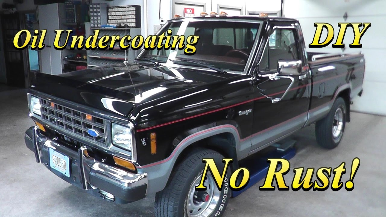 Oil Undercoating DIY - YouTube