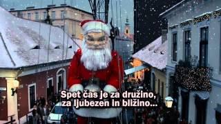Tangels ft Nika Zorjan in April - NEKAJ V ZRAKU (Lyrics + Coca-Cola Xmas Video 2012) thumbnail