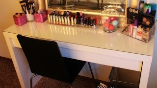 Vanity Tour | My Makeup Collection And Storage