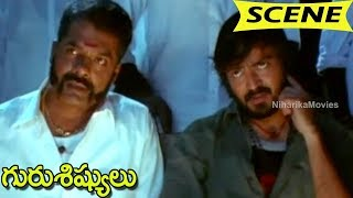 Minister Finished Film Distributor - Villain Action Introduction || Guru Sishyulu Movie Scenes