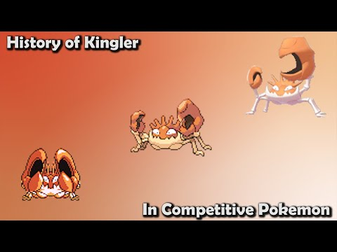 How GOOD was Kingler ACTUALLY? - History of Kingler in Competitive Pokemon