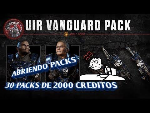 ABRIENDO PACKS   VANGUARD URI ELITE URI Vanguardia   [GEARS OF WAR 4] LARAJO GAMER