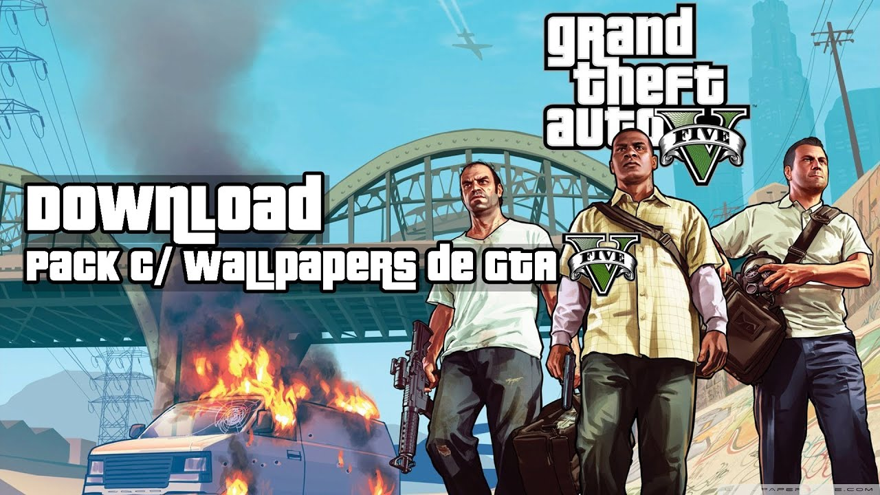 Pack Com Wallpapers De Gta V  Hd Download De  Wallpapers Download Gratis