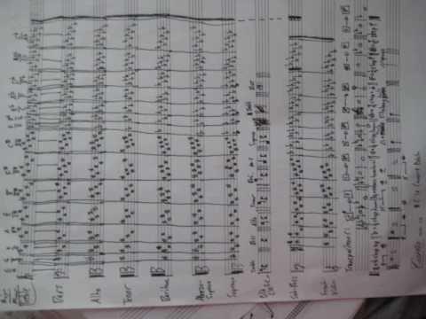 My Musical Handwriting 1