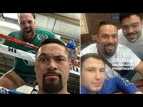 JOSEPH PARKER AND TYSON FURY SPARRING EACH OTHER!!!