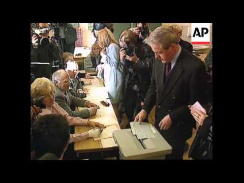 Austria -Austrians Go To The Polls/Franz Vranitzky