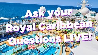 LIVE: Answering your cruise questions!