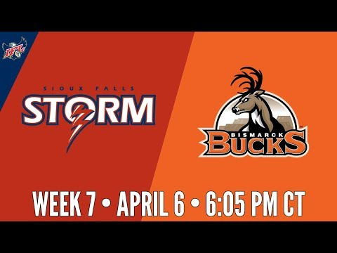 Week 7 | Sioux Falls Storm at Bismarck Bucks