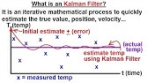 Tutorial: Kalman Filter with MATLAB example part1 - YouTube