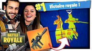 TOP 1 AVEC LE FUSIL THERMIQUE ! | TOP 1 MODE FORTNITE TIREUR D'ÉLITE V3