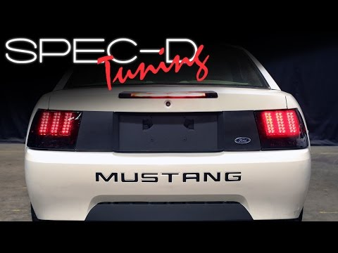 SPECDTUNING INSTALLATION VIDEO: 1999-2004 FORD MUSTANG SEQUENTIAL LED TAIL LIGHTS