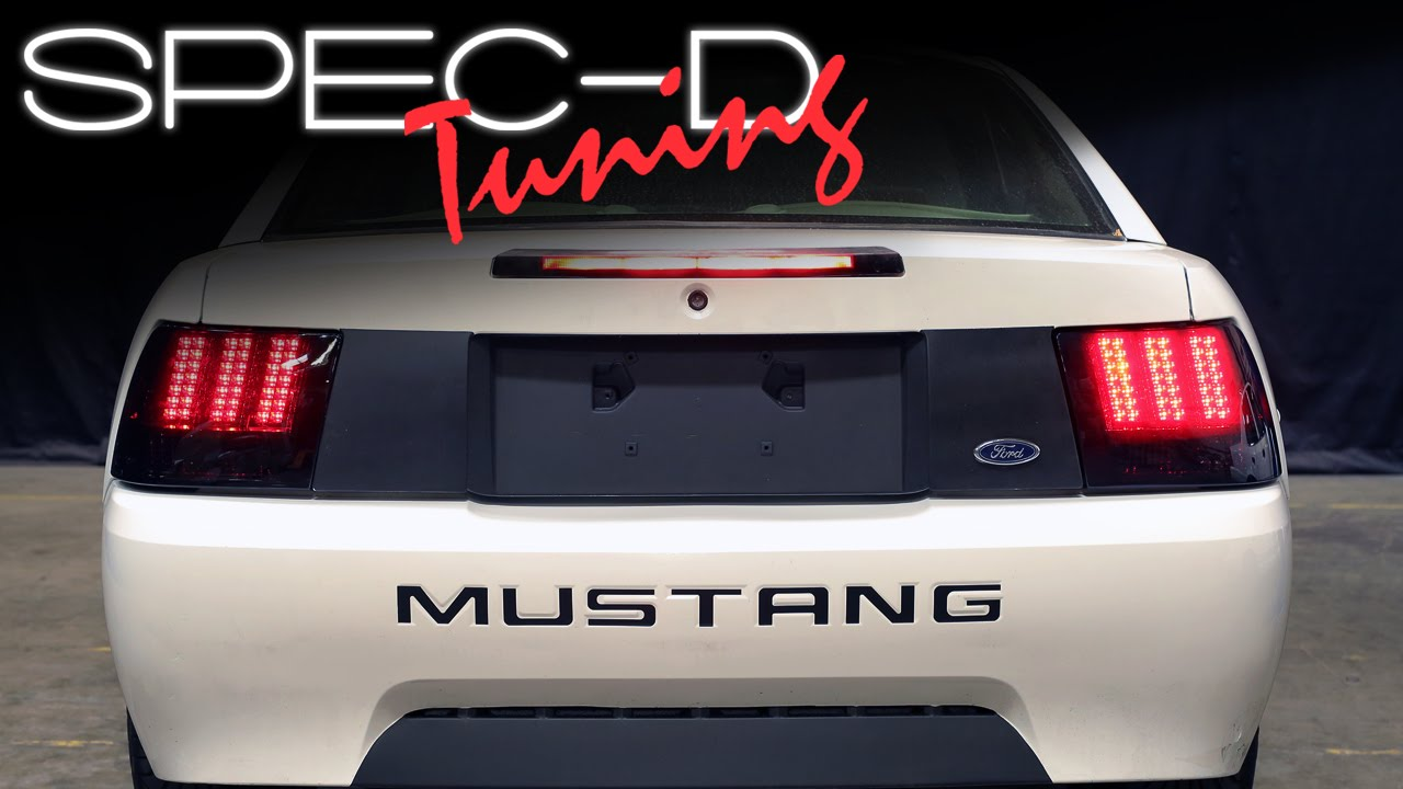 Specdtuning Installation Video 1999 2004 Ford Mustang Sequential Led Tail Lights You