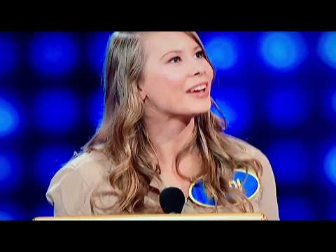 Bindi Irwin on Family Feud with Steve Harvey
