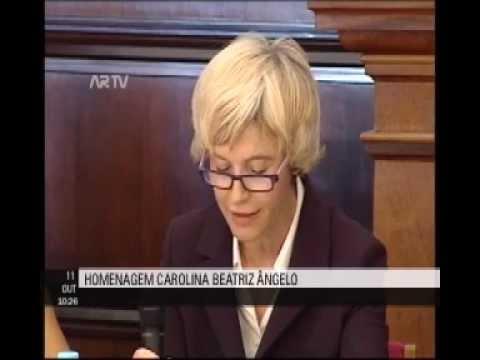 Homenagem a Carolina Beatriz Ângelo