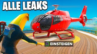 HELIKOPTER ? NEUES Starter Paket, Items, Skins, alle Leaks | Fortnite Season 2 Deutsch