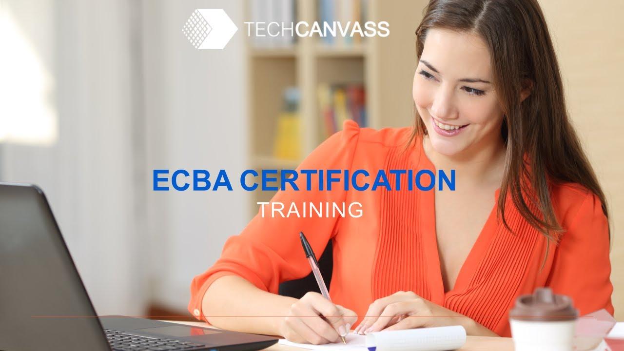 Business Analyst Certification Training Ecba Session I Youtube