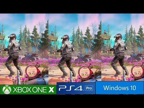 Far Cry New Dawn - PS4 Pro vs Xbox One X vs PC Graphics Comparison, Similar Tech As Far Cry 5