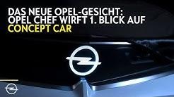 Neues Markengesicht: Erster Blick auf Opel Konzeptfahrzeug