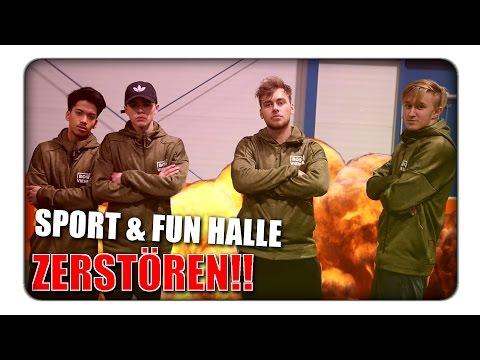 WIR zerstören die SPORT & FUN  HALLE! | BOSS VIENNA