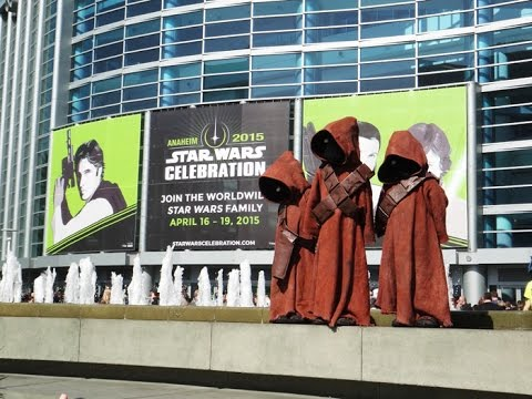 STAR WARS CELEBRATION 2015 SHOW STORE TOUR WALKTHROUGH EXCLUSIVES