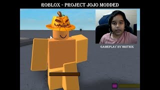 Project JoJo Modded - Roblox Fighting Game, Gameplay by Hrithik