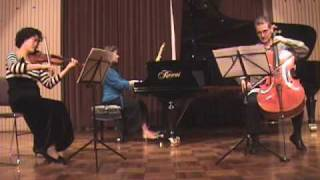 Mendelssohn - Piano Trio No. 1 in D minor, Mvt. 2 - Andante con moto tranquillo