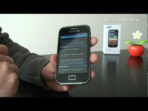 Samsung Galaxy Ace Plus im Test