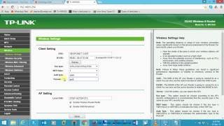 How to set Tp Link TL MR3020 as a repeater