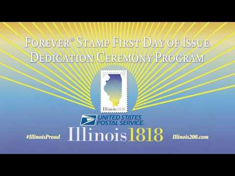 Illinois Statehood Commemorative Forever Stamp