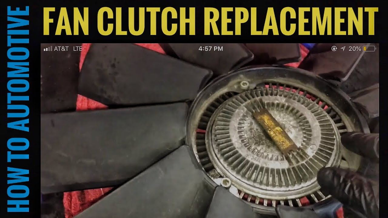 How to replace the fan clutch on a 1995 2003 bmw 540i e39