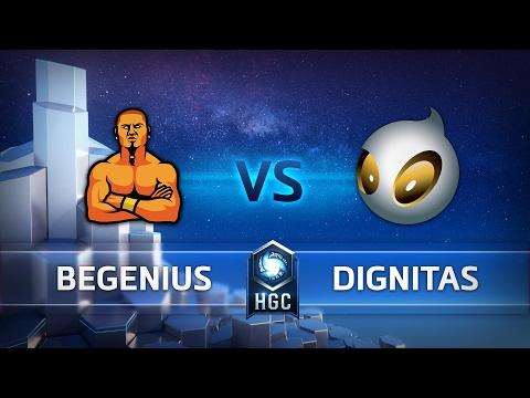beGenius vs Dignitas - HGC EU Group Play - G3