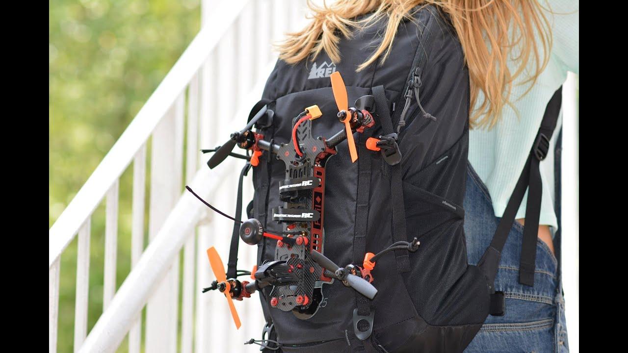 quadrocopter rucksack