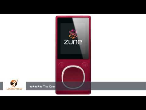 Zune 4 GB Digital Media Player (Red) | Review/Test