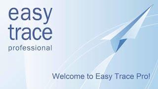 Оцифровка планшетов в программе Easy Trace Pro