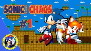Sonic Chaos (Game Gear) #1 Turquoise Hill & Gigapolis Zone