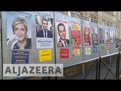 French town's residents uncertain about election outcome