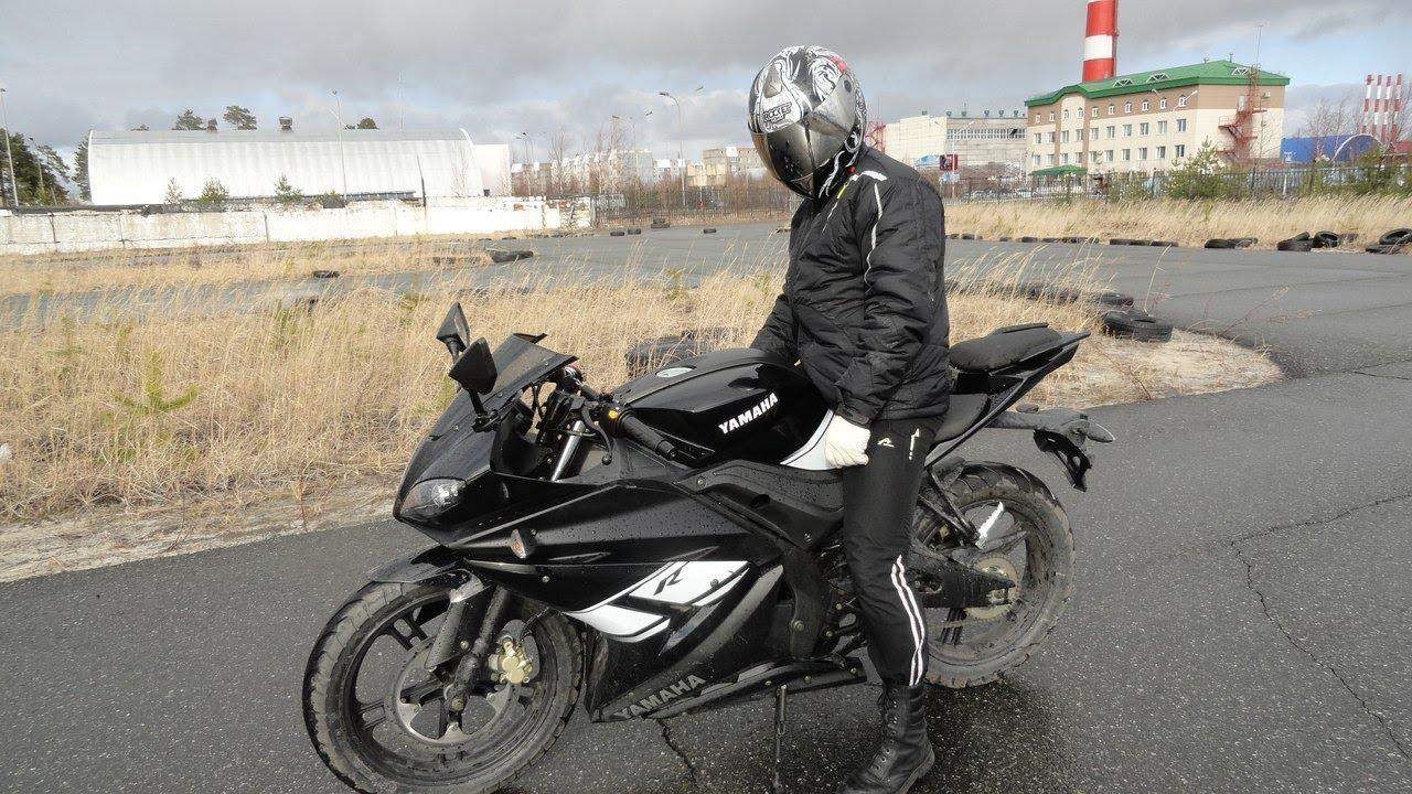 китайский мотоцикл рэйсер нитро 250 - YouTube