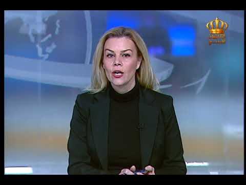 English News at Ten on Jordan Television 26-11-2017