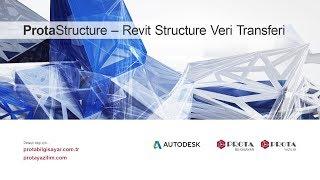 ProtaStructure Revit Structure Veri Transferi