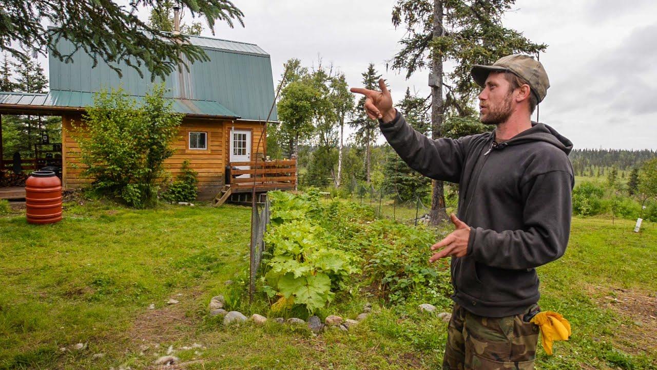 Off The Grid In Alaska A Tiny Home Farm In The Alaska