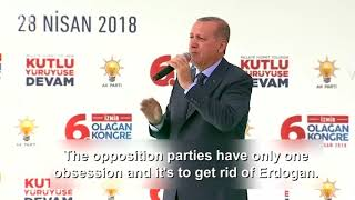 Turkey's Erdogan starts campaigning for snap June elections