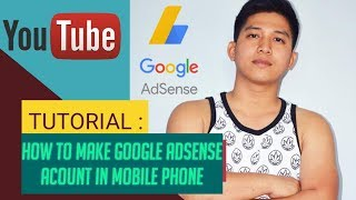 HOW TO MAKE GOOGLE ADSENSE ACCOUNT IN MOBILE PHONE