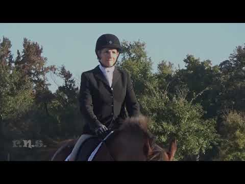 Anne Doerge & Glenlords Crimson Tyton At Texas Rose Horse Park Fall Horse Trials 2018